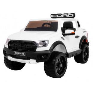 Elektrické autíčko Ford Ranger Raptor - biela