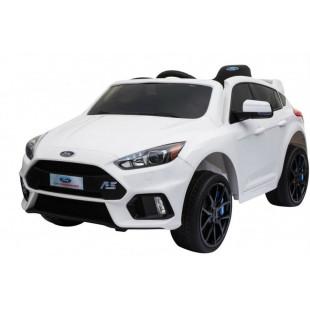 Elektrické autíčko FORD FOCUS RS - biela