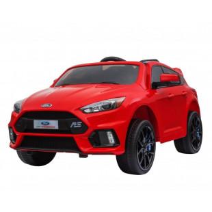 Elektrické autíčko FORD FOCUS RS - červená