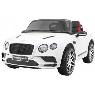 Elektrické autíčko Bentley Continental LUX - biela