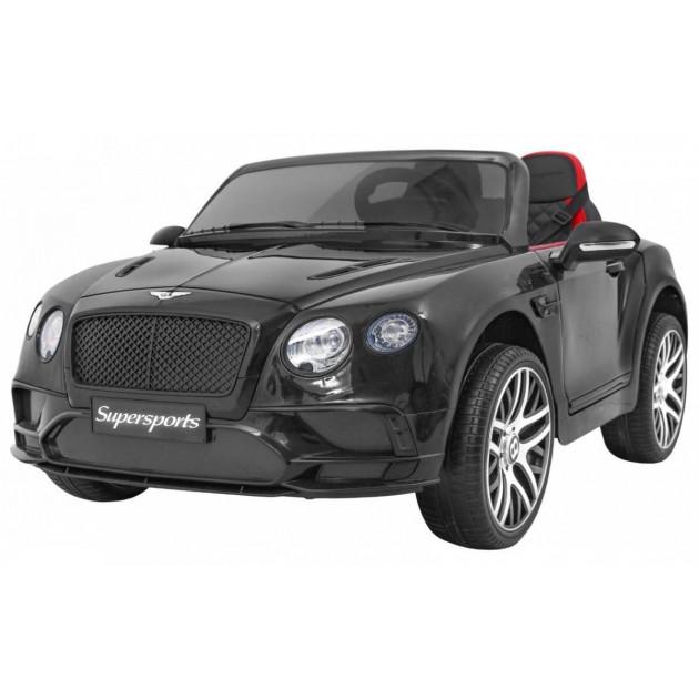 Elektrické autíčka licencované - Elektrické autíčko Bentley Continental LUX - čierna - 2