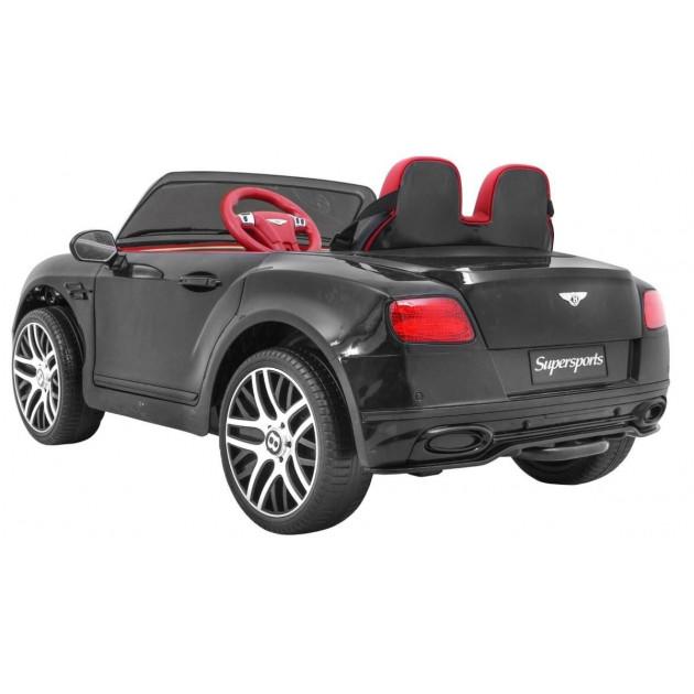 Elektrické autíčka licencované - Elektrické autíčko Bentley Continental LUX - čierna - 1