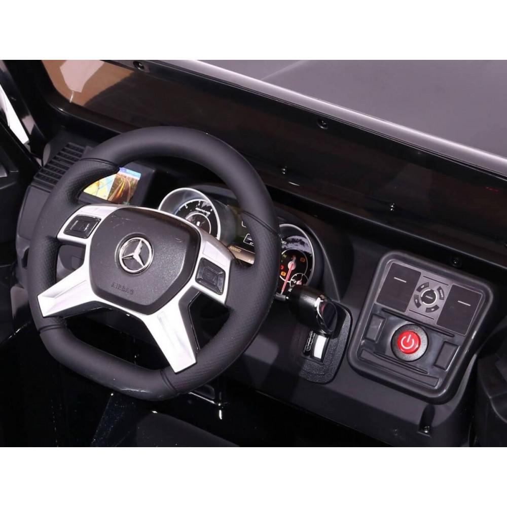JBM Elektrické autíčko MERCEDES G65 AMG 12V VIP VERZIA