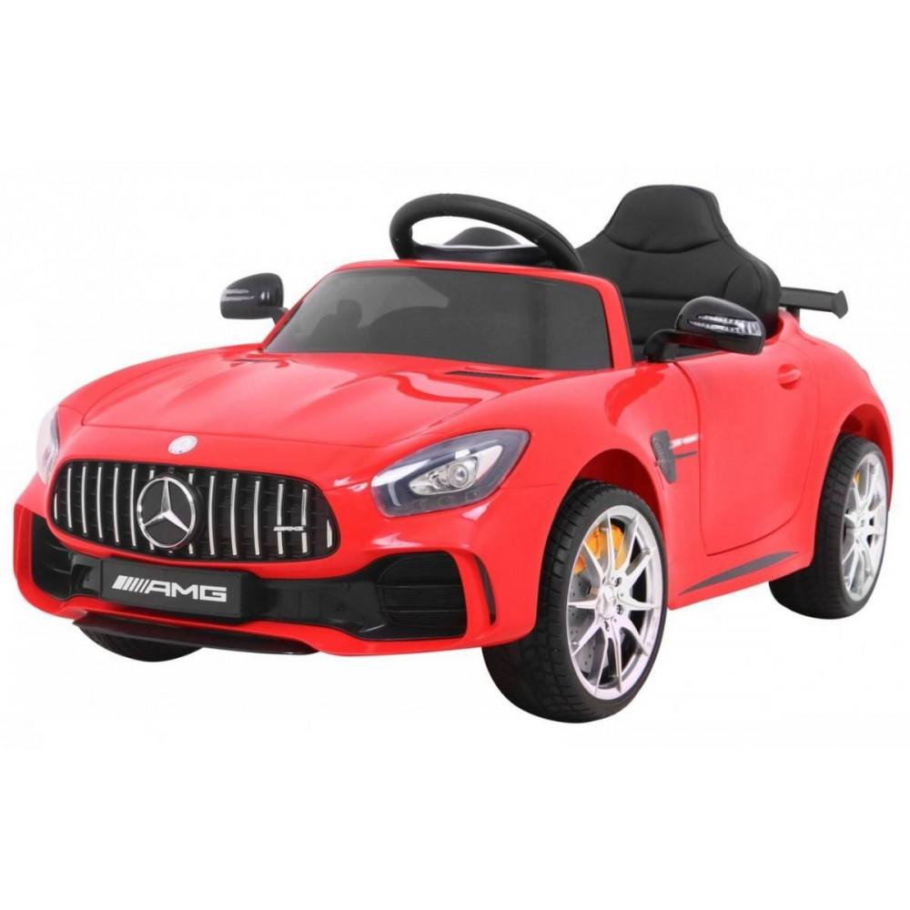 Elektrické autíčka licencované - Elektrické autíčko Mercedes AMG GTR - červená - 2