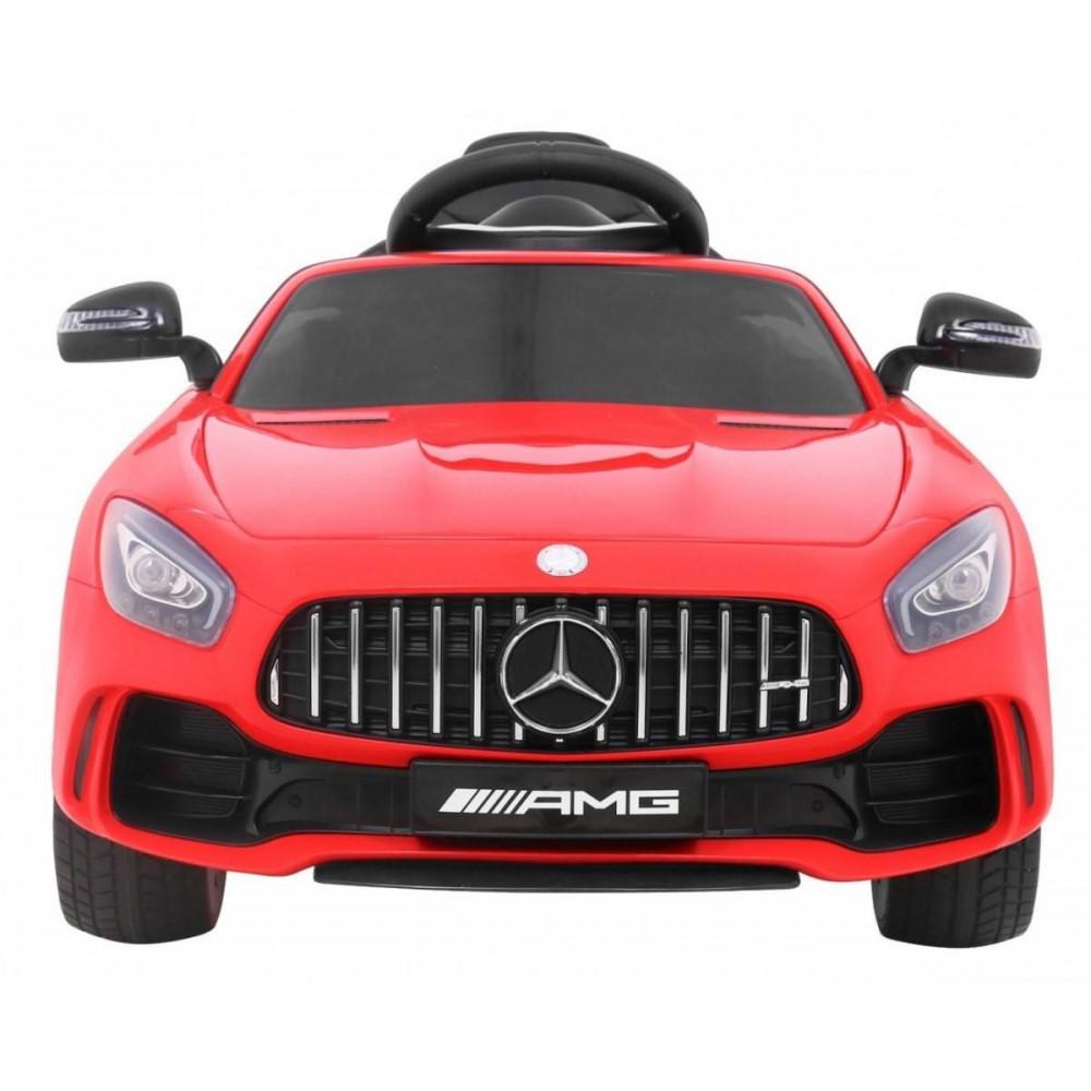 Elektrické autíčka licencované - Elektrické autíčko Mercedes AMG GTR - červená - 8