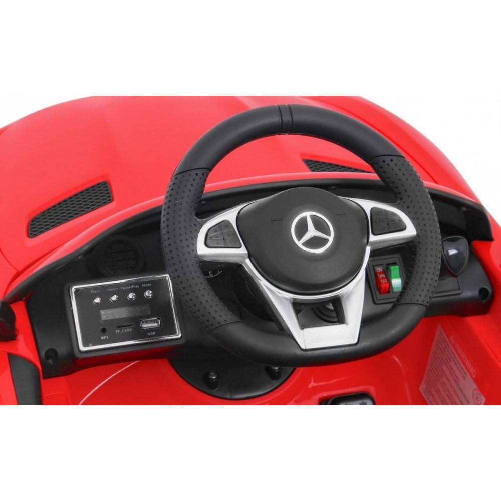 Elektrické autíčka licencované - Elektrické autíčko Mercedes AMG GTR - červená - 10