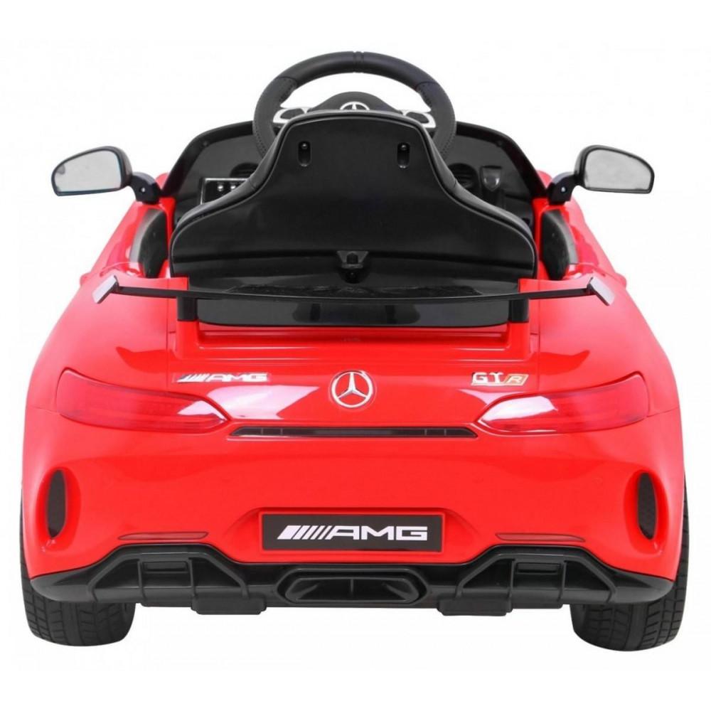 Elektrické autíčka licencované - Elektrické autíčko Mercedes AMG GTR - červená - 9