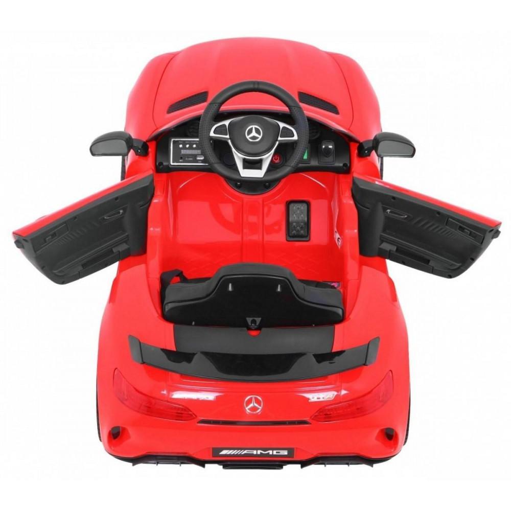 Elektrické autíčka licencované - Elektrické autíčko Mercedes AMG GTR - červená - 5