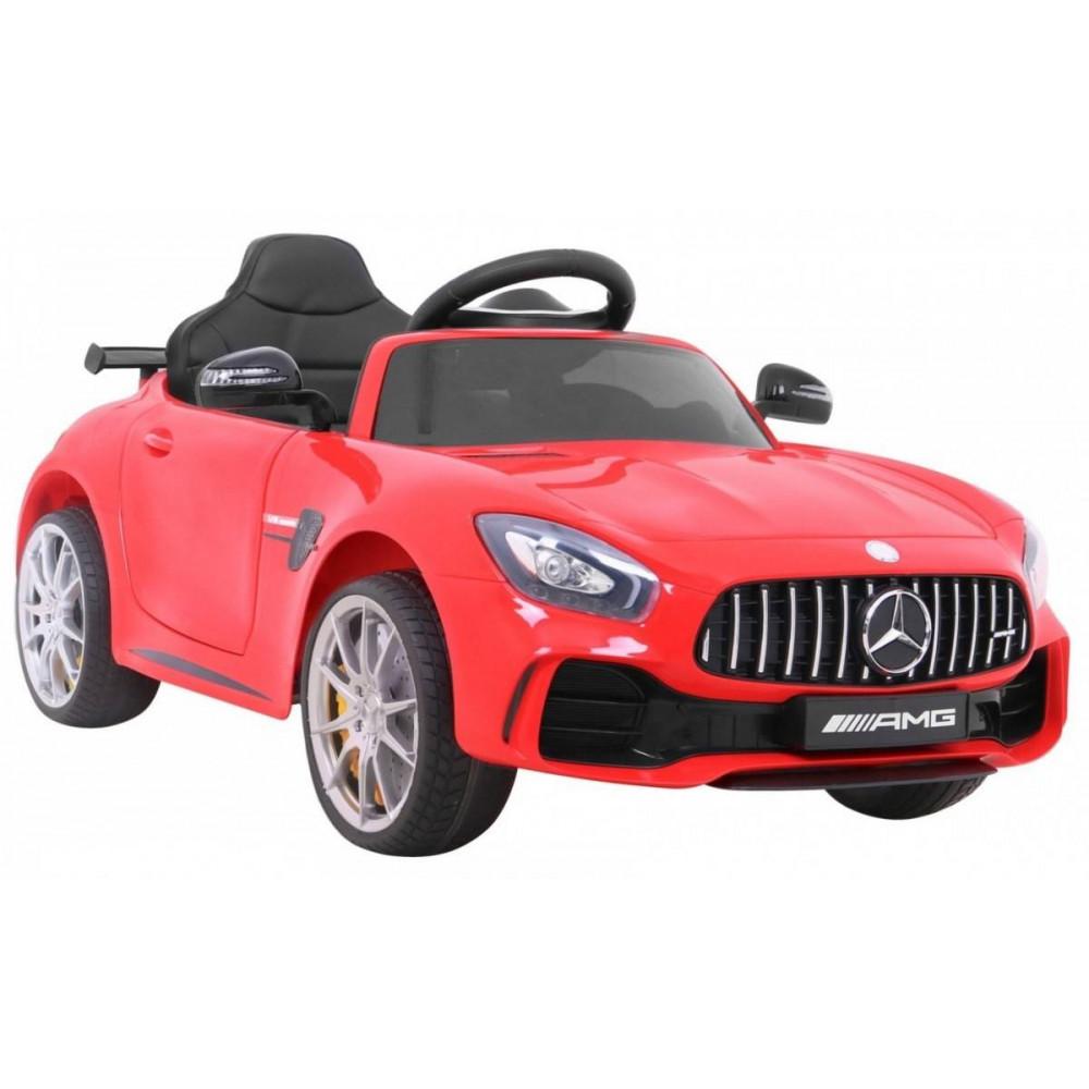Elektrické autíčka licencované - Elektrické autíčko Mercedes AMG GTR - červená - 7
