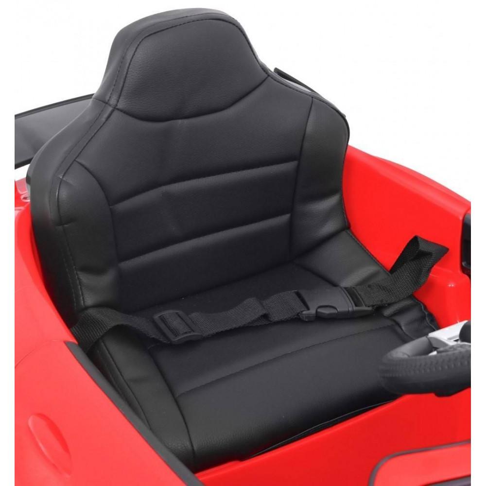 Elektrické autíčka licencované - Elektrické autíčko Mercedes AMG GTR - červená - 11