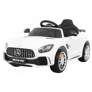 Elektrické autíčko Mercedes AMG GTR - biela
