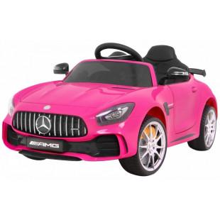Elektrické autíčko Mercedes AMG GTR - ružová