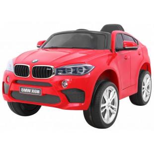 Elektrické autíčko BMW X6M - červená