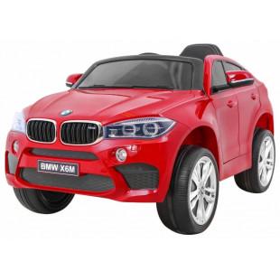 Elektrické autíčko BMW X6M - červená lak