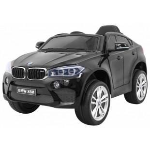 Elektrické autíčko BMW X6M - čierna lak