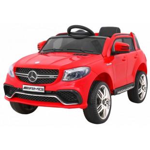 Elektrické autíčko MERCEDES GLE63 AMG - červená