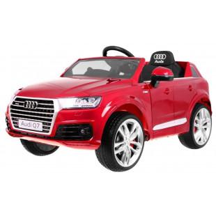 Elektrické autíčko Audi Q7 - červená lak