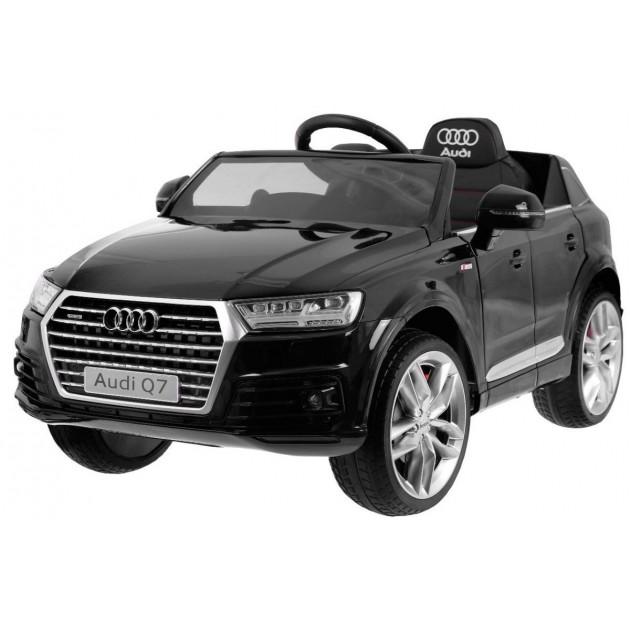 Elektrické autíčko Audi Q7 - čierna lak
