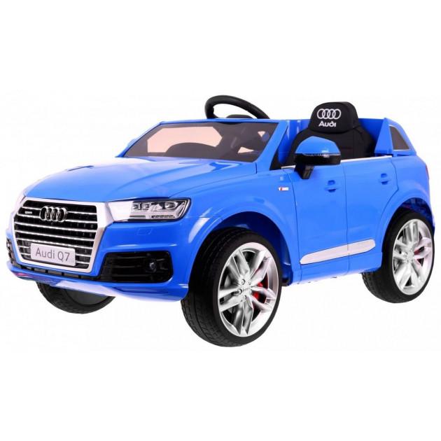 Elektrické autíčko Audi Q7 - modrá