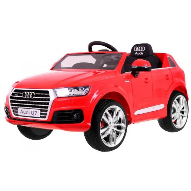 Elektrické autíčko Audi Q7 - červená