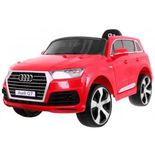 Elektrické autíčko Audi Q7 S-line - červená