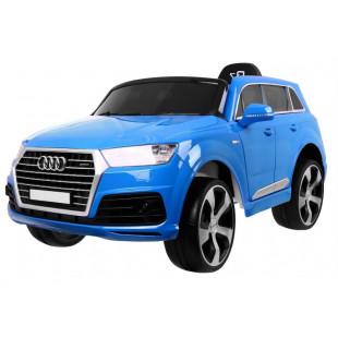 Elektrické autíčko Audi Q7 S-line - modrá lak
