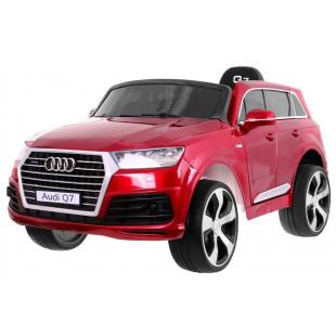 Elektrické autíčko Audi Q7 S-line - červená lak