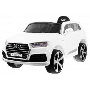 Elektrické autíčko Audi Q7 S-line - biela