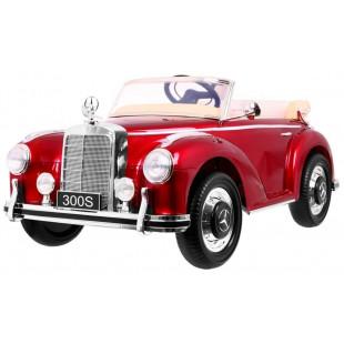 Elektrické autíčko MERCEDES S300 - červená lak