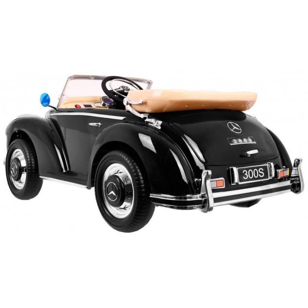 Elektrické autíčka licencované - Elektrické autíčko MERCEDES S300 - čierna lak - 1
