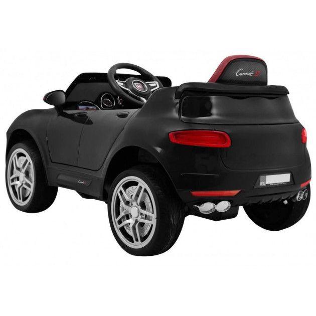 Elektrické autíčka - Elektrické autíčko Porsche Cayenne style - čierna - 1