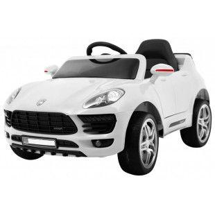 Elektrické autíčko Porsche Cayenne style - biela