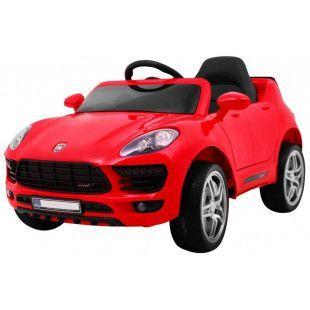 Elektrické autíčko Porsche Cayenne style - červená