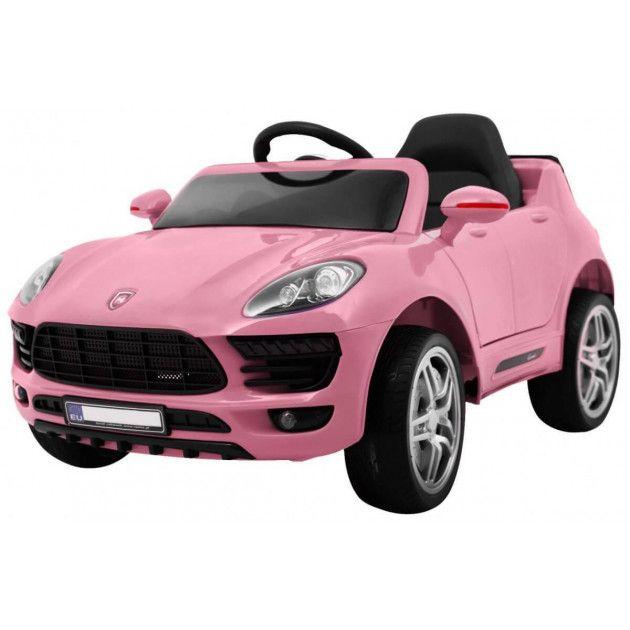 Elektrické autíčka - Elektrické autíčko Porsche Cayenne style - ružová - 2