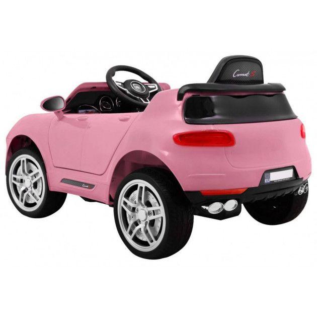 Elektrické autíčka - Elektrické autíčko Porsche Cayenne style - ružová - 1