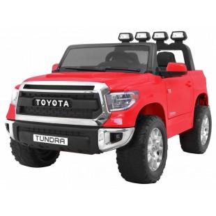 Elektrické autíčko Toyota Tundra - červená