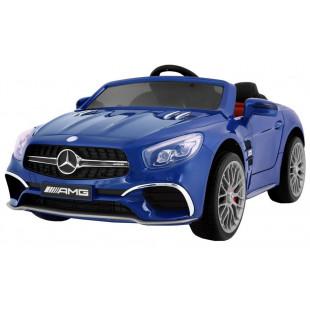 Elektrické autíčko Mercedes AMG SL65 - modrá lak