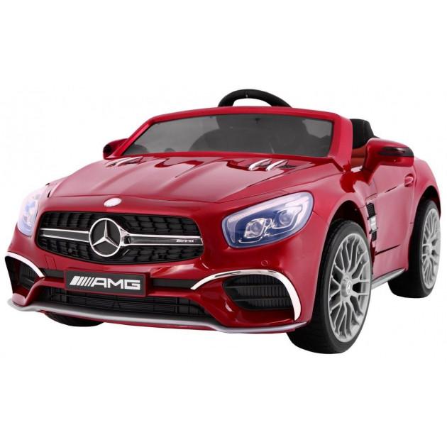 Elektrické autíčko Mercedes AMG SL65 - červená lak