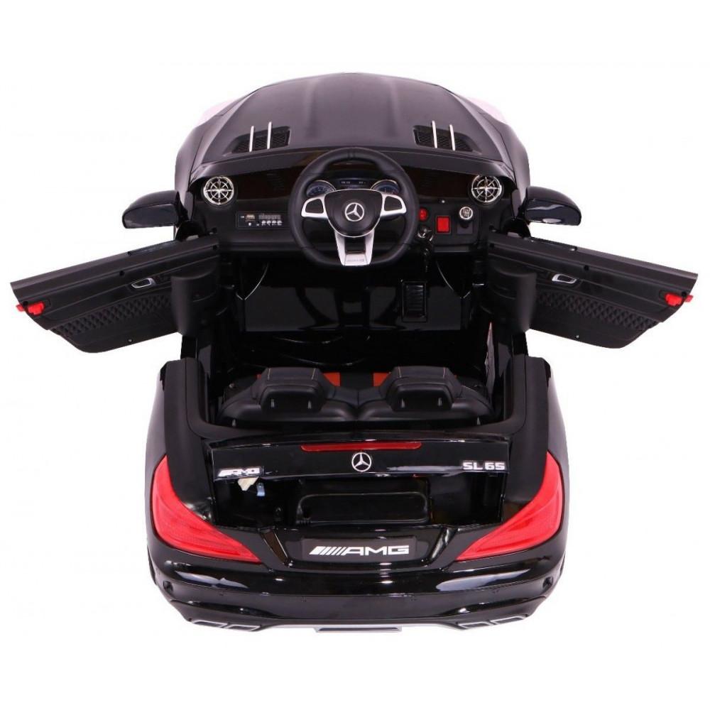 Elektrické autíčka licencované - Elektrické autíčko Mercedes AMG SL65 - čierna lak - 3