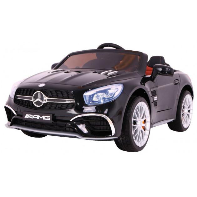 Elektrické autíčko Mercedes AMG SL65 - čierna lak