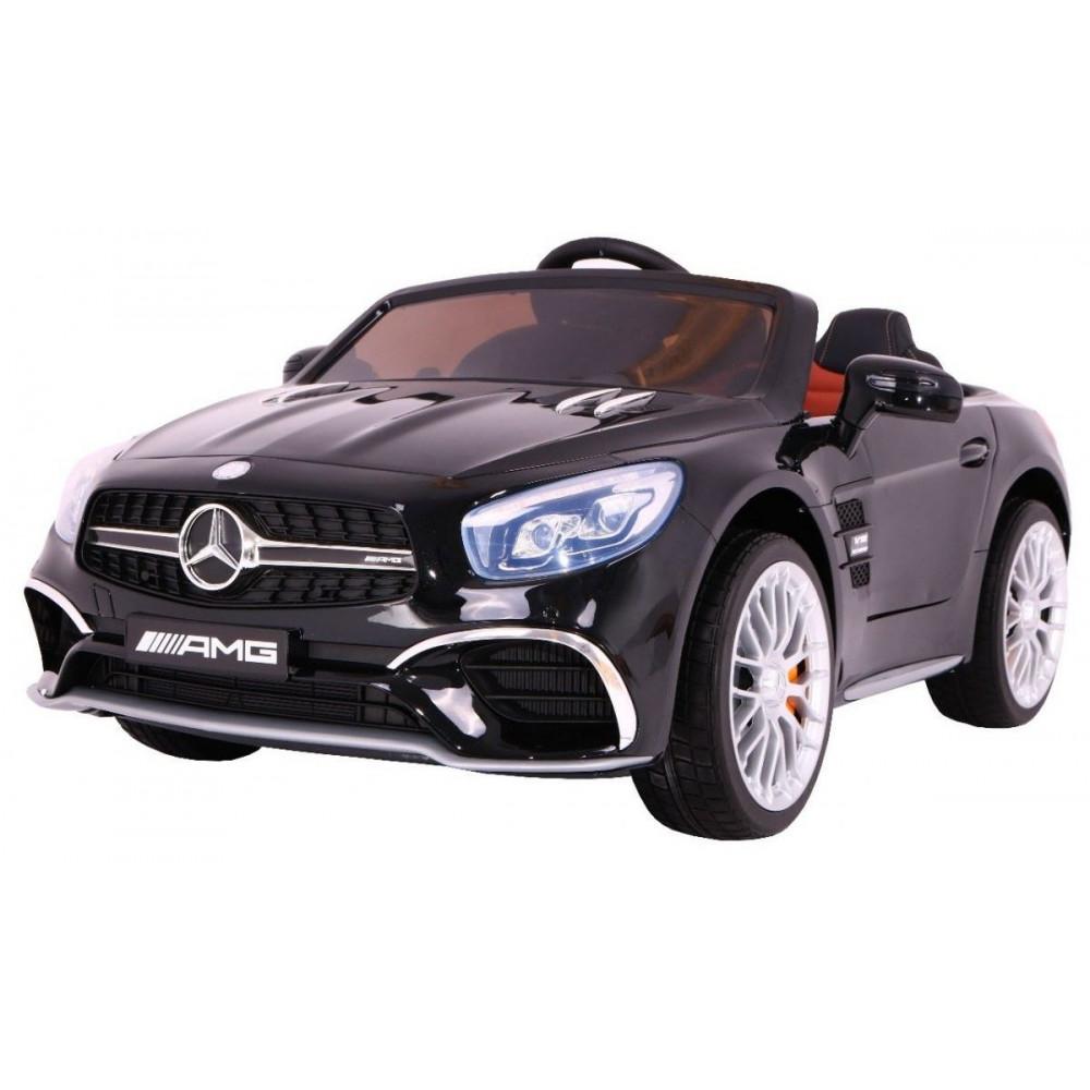 Elektrické autíčka licencované - Elektrické autíčko Mercedes AMG SL65 - čierna lak - 2