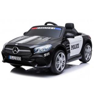 Elektrické autíčko Mercedes SL500 POLICE - čierna