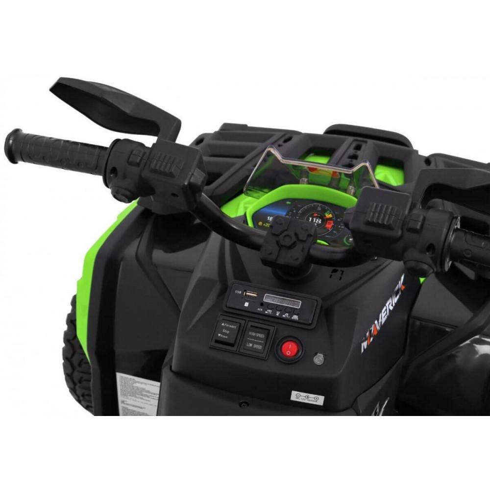 JBM Elektrická štvorkolka QUAD Maverick 24V 4X4