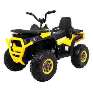 Elektrická štvorkolka Quad ATV Desert - žltá