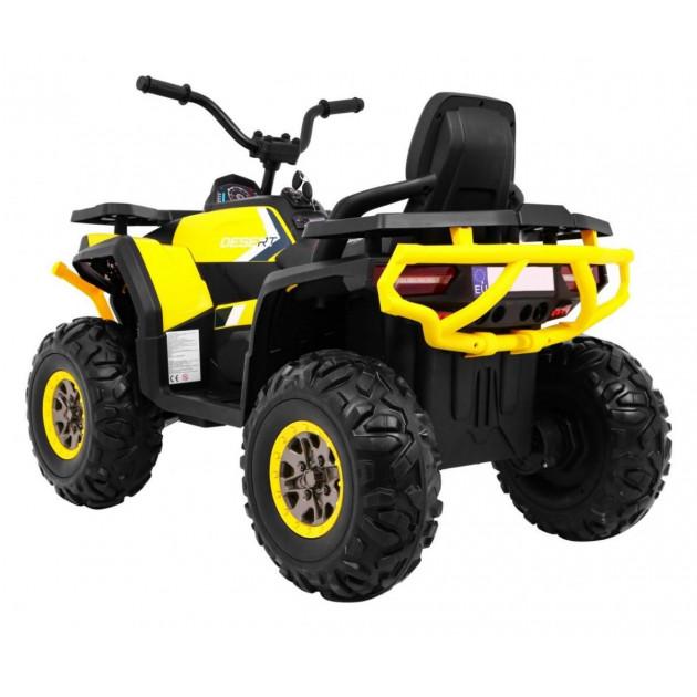 Elektrické štvorkolky - Elektrická štvorkolka Quad ATV Desert - žltá - 1
