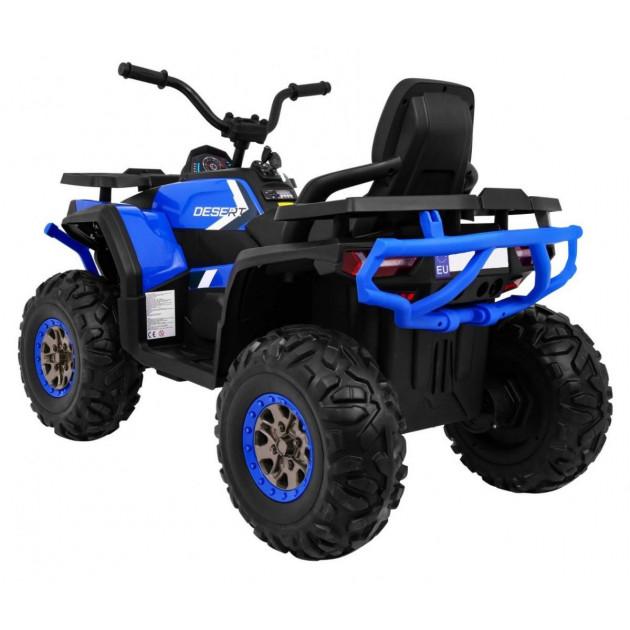 Elektrické štvorkolky - Elektrická štvorkolka Quad ATV Desert - modrá - 1