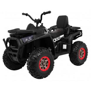 Elektrická štvorkolka Quad ATV Desert - čierna