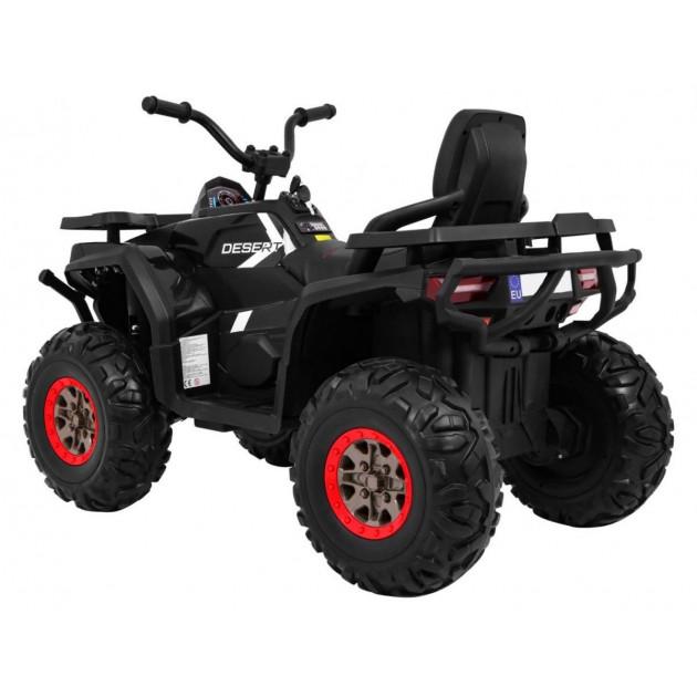 Elektrické štvorkolky - Elektrická štvorkolka Quad ATV Desert - čierna - 1