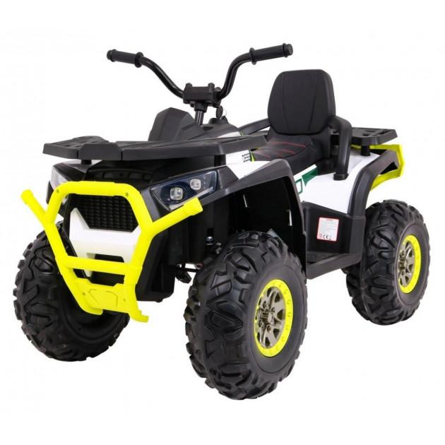 Elektrická štvorkolka Quad ATV Desert - biela