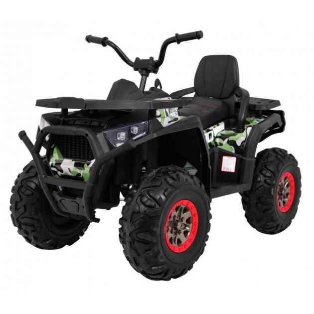 Elektrická štvorkolka Quad ATV Desert - kamufláž